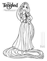 Small Picture disney tangled Rapunzel coloring pages printable Free Coloring