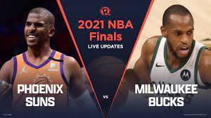 — chris paul hits the brakes hard, and giannis antetokounmpo has no chance. Highlights Suns Vs Bucks Game 1 Nba Finals 2021
