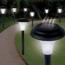 Garden Creations JB5629 SolarPowered LED Accent Light Set Of 8 Solar Powered Led Lights For Homes