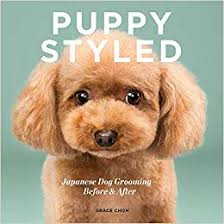 Dog Haircut Chart Amazon Com Puppy Styled Japanese Dog Grooming Before
