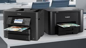 Esta impresora de inyección de tinta 3 en 1 tiene tinta suficiente para dos años y es la elección ideal para sistemas operativos compatibles. The Best Printers For Mac Pcmag
