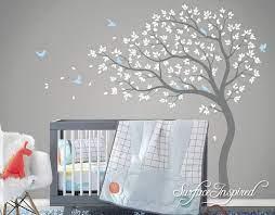 wall stickers nursery kids large tree