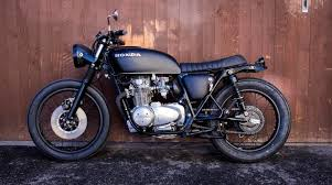 custom honda cb550 four brat cafe racer motorrad umbau