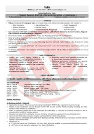 Telecom Resume Examples Telecom Manager Sample Resumes Download Resume Format Templates 32