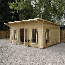 home office cabin. Click Image To Enlarge Waltons 4.2m X 5.4m Contemporary Home Office Log Cabin C