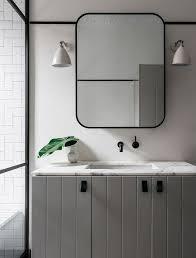 Image result for black framed bathroom mirror Bath