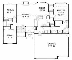 High Quality Plan #1602   3 (split) Bedroom Ranch W/ Walk In Pantry, Walk In Closets,  Mud Room And 3 Car Garage