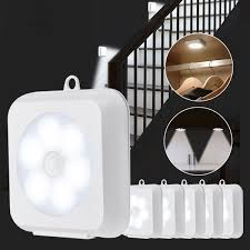 Kcasa 2 W Led Kast Nachtlampje Draadloze Pir Bewegingssensor Batterijen Kast Kast Lamp Thuis Slaapkamer Keuken Verlichting