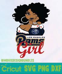 Free svg image & icon. Rams Girl Logo Nfl Svg Png Dxf Movie Design Bundles