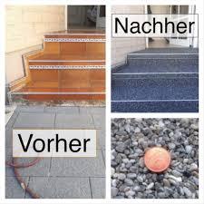 Wie hoch sind die kosten für ihre treppe, terrasse oder. Steinteppich Treppe Treppenrenovierung Regionale Steinteppich Anbieter