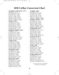 Dillon Shell Plate Chart Sdb Caliber Conversion Chart Dillon Precision Square Deal