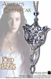 lotr arwen evenstar pendant silver