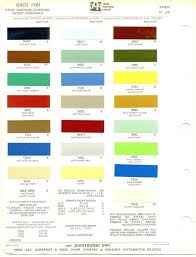 Amercoat Color Chart 40 Skillful Ppg Auto Paint Color Charts