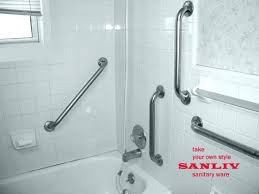 handrails for bathtubs safety rails for bathroom rail toilet home depot grab ideas bathtub bars handrails