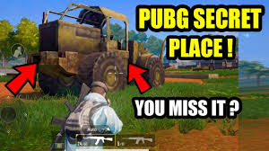 If you have managed to open a room, then you can expect great loot. Pubg Mobile New Hidden Secret Places To Hide In Open Area S Kill Enemies Play Like A Pro Youtube