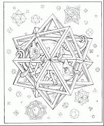 geometric coloring sheets help teens struggling math