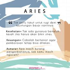 Popbela Apa Kabar Aries Zodiak Facebook