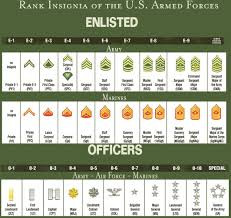 Us Army Hierarchy Chart Photos Show Us Your Military Ranks Militaryimages Net