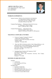 15 Biodata Format Job Application Shawn Weatherly