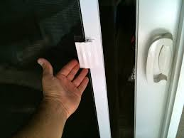remove sliding screen door lock saudireiki