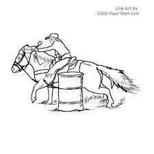 barrel racing drawings suse racing
