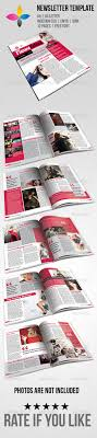 Magazine Newsletter Design Indesign And Magazine Newsletter Templates From Graphicriver