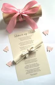 Wedding Gift for Bride from Groom on Wedding Day Personalised ...