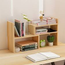 small shelf for desktop creative computer desk bookshelf simple shelf small office storage home decoration ideas