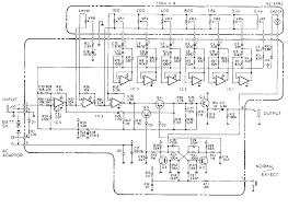 boss ge 7 equalizer guitar pedal schematic diagram schematic diagram of ge 7 equalizer pedal