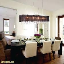dining room rectangular fixtures table chandelier pendant lights large light crystal modern astonishing rustic dinin