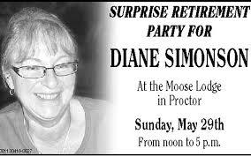 Diane Simonson Retirement Party   Duluth News Tribune