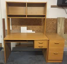 office computer desk with pedestal and over desk shelf unit john lewis