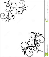 Valentine Card Frame Stock Illustration Illustration Of Leaf 12833539