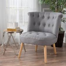 cicely tufted fabric accent chair by christopher knight home