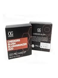 <b>Румяна для лица компактные</b> запеченные Cheekers Blush №08 ...