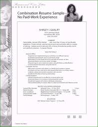How To Make A Resume With No Work Experience Genuine Write A