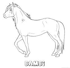 Bambi Naam Kleurplaten