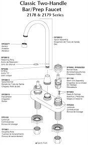 plumbingwarehouse delta kitchen faucet parts for models 2178 regarding delta kitchen faucet parts diagram plan