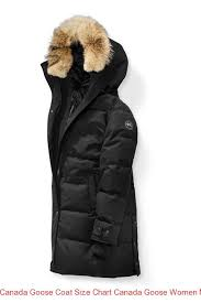 Canada Goose Coat Size Chart Canada Goose Women Massey Parka Black Label Black Herringbone