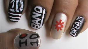 One Direction Nails! easy 1D nail deisgns and nail art for ...