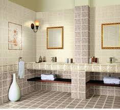 Home Stratosphere You Can Have The Rock And Wood Texture Which Is Perfect For A Cozy Themed  Bathroom Others May Want Pure Tiles Their Bathroom To Achieve