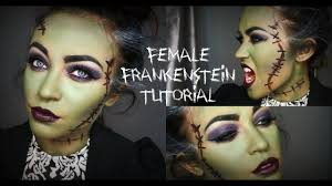 female frankenstein tutorial