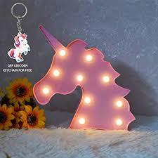Glintee Unicorn LED Night Lamp Decorative Marquee ... - Amazon.com