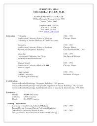 Resume For Residency Application Sidemcicek Com