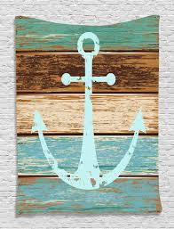 full size of wall decor nautical decor anchor rustic wooden planks marine maritime sea ocean