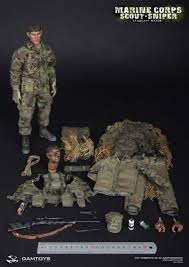 Marine Corps Scout Sniper Dam Toys United States Marine Corps Sergeant Major Scout Sniper Mib