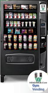 Vending Machines For Gyms Beauteous Gym Vending Machine The Fitness Center