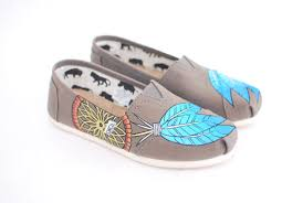 Dream Catcher Toms Native American Dream Catcher TOMS shoes Custom painted shoes 27