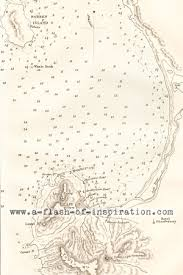 Vintage Nautical Charts A Flash Of Inspiration Vintage Charts And Port Maps