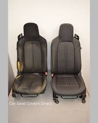mazda miata mx5 tailored seat covers before and after